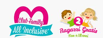Ragazzi Gratis fino a 15 anni - Club Family all Inclusive