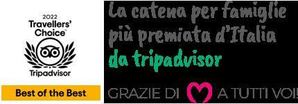 La catena di hotel per famiglie più premiata d'Italia