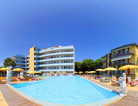 Hotel in Romagna con piscina e idromassaggio